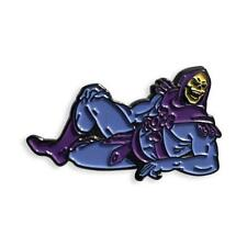SEXY SKELETON SOFT ENAMEL BLACK METAL PLATED PIN BY YESTERDAYS CO.