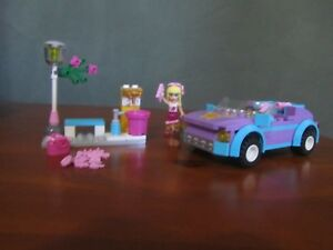 Lego Friends - Stephanie's Cool Convertible - #3183 - 2012 - Retired Product