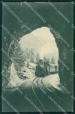 Vicenza Asiago Ferrovia Rocchette Asiago Treno cartolina VK1437