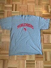 Muhlenberg College Grey T Shirt Large Vintage