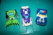 Transformers Rescue Bots Lot - Rescan BLURR (Purple) - Chase Police - Boulder