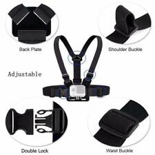 Chest Strap Adjustable Harness Mount for GoPro HERO 3, 4, 5, 6, 7 Action Camera