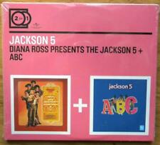 JACKSON 5 DIANA ROSS PRESENT THE JACKSON 5 + ABC 2 FOR 1 CD NUOVO