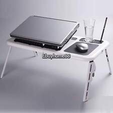Portable Adjustable Laptop Notebook Desk Stand Bed Tray Table Aluminum