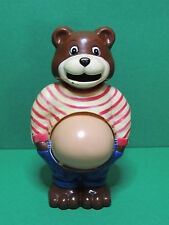 Figurine tirelire GABBY ours Petits Malins Gaby bear money box figure Maple town