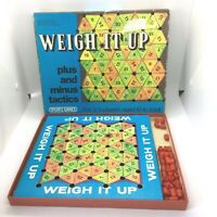 Vintage 1975 Spears Weigh It Up Board Game Maths Complete Educational Fun
