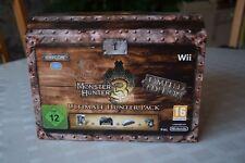 Monster Hunter Tri Limited Edition Ultimate Hunter Pak - Nintendo Wii - CIB OVP