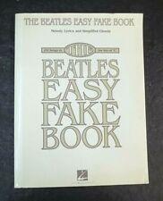 The Beatles Easy Fake Book Songbook Sheet Music Chords Lyrics 100 Songs Key of C
