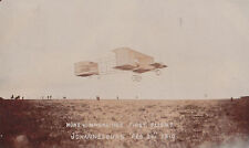 AVIATION KIMMERLING'S FIRST FLIGHT - JOHANNESBURG 1910 WRITTEN BY ABNER COHEN