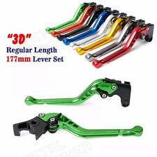 CNC 3D Long Brake Clutch levers For Kawasaki Ninja 250R EX250 1987-2007