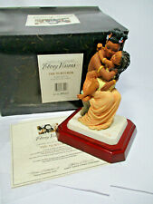 Thomas Blackshear's Ebony Visions The Nurturer Figurine Item 37002 Signed w/Coa