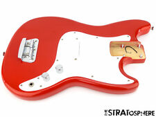 LOADED 2017 Fender Squier Affinity Bronco BASS BODY Guitar Parts Torino Red