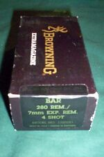 MK I BROWNING BAR MARK I 280 REM. 7mm EXP. REM. 4 rd FACTORY MAGAZINE NEW MAG