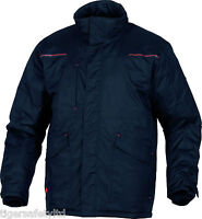 Delta Plus Panoply Edson Black Mens Outdoor Jacket Rain Coat Parka BNWT