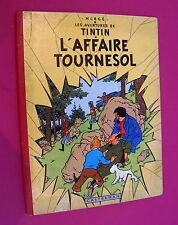 TINTIN HERGE L'AFFAIRE TOURNESOL CASTERMAN B20 EO BELGE BON ETAT