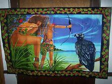 Cotton Printed Tapestries Bikini Hunters - 54 X 35 -Turkey-Wall Decoration