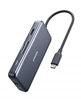 Anker USB C Hub, PowerExpand+ 7-in-1 USB C Adapter, with 4K HDMI, 60W Power 2