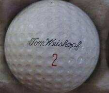 (1) TOM WEISKOPF SIGNATURE LOGO GOLF BALL ( MACGREGOR GOLDEN CORE CIR 1962) #2