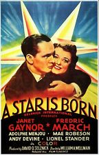 Super 8 sound Film A STAR IS BORN 1937 feature film Color