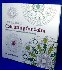 Little Colouring Book For Calm Relaxation 100 Illustration Circle Design