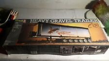 Heavy Gravel Trailer kit 1/25 Revell New No Italeri Tamiya Hasegawa hauler truck