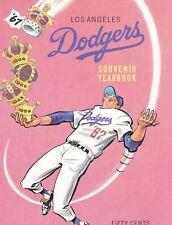 1967 Los Angeles Dodgers Yearbook Baseball