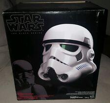 Star Wars Black Series Rogue One Stormtrooper Voice-Changer Helmet stock 10/5