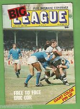 #QQ. RUGBY BIG  LEAGUE MAGAZINE- 6-12th August 1977