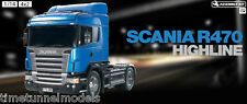 Tamiya 56318 Scania R470 - Radio Control Self Assembly Truck Lorry Kit 1:14 RC