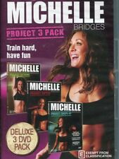Michelle Bridges Project 3 Pack DVD NEW Extreme / Ripped / Shape-Up