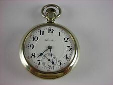 Antique 16s Hamilton 954 Rail Road pocket watch 1911. 17 rubies. Salesman case!