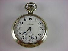 Antique 16s Hamilton 954 Rail Road pocket watch 1911. 17 rubies. Salesman case!