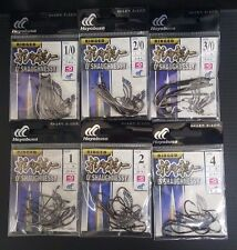 2packs Hayabusa O'Shaughnessy Fishing Hook Choose Size