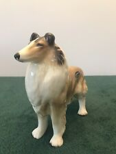 More details for coopercraft rough collie figurine ornament, height approx 19 cm