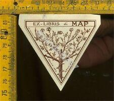Ex Libris Originale a 411 MAP