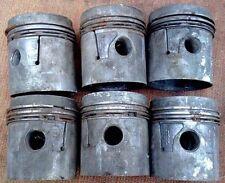 GAZ 69, GAZ M20 Kolbensatz 88 mm mit Kolbenringe. Pistons with rings.