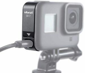 ULANZI G8-7 Aluminium Open Door/Battery cover for GoPro HERO8 Black | Allows Cab