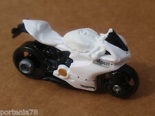2014 Hot Wheels DUCATI 1199 PANIGALE 36/250 Speed Team LOOSE White