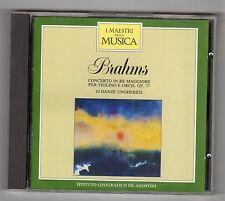 CD -  I MAESTRI DELLA MUSICA DEAGOSTINI BRAHMS VOLUME II N. 21