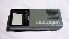 Vintage Sony Watchman Black and White Tv Model Fd10A 1990 Working