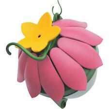 Nature's Way So Real 5 Oz. Pink Plastic Flower Hummingbird Feeder Sfhf1 - 1