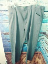 Haband's Fit Forever Mens slacks expand waistband size 46M gray