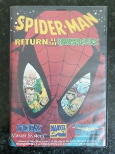 Sega Master System - Spider-Man Return Of The Sinister Six