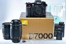Nikon D7000 16.2MP Digital SLR Camera With 28-80mm & 70-300mm Macro Zoom Lenses