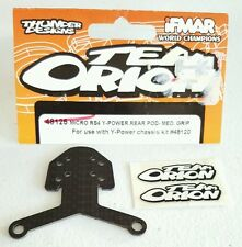 TEAM ORION HPI RACING RC MICRO RS4 WOVEN CARBON Y-POWER REAR POD 48125 NIP