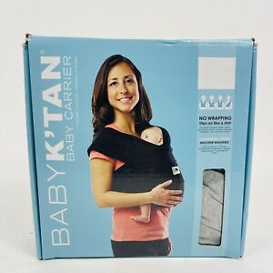 Baby K'Tan Baby Carrier Large Gray New