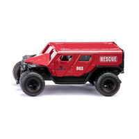 "Siku 2307 GHE-O ""Rescue"" rot Maßstab 1:50 Modellauto NEU!°"