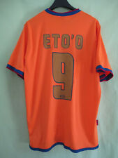 0d9bb9c8a Maillot Barcelone Eto o  9 jersey Fc Barcelona Vintage Shit Orange - L