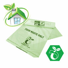 Compostable Caddy Liners ~ 7L ~ 8 Rolls ~ 200 Bags ~ Caddy Bin Bags ~ Caddy Bags