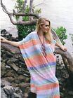 NEW RUBY YAYA Indalia Temple Maxi Kaftan Dress - S - One 4 Summer Beach Season